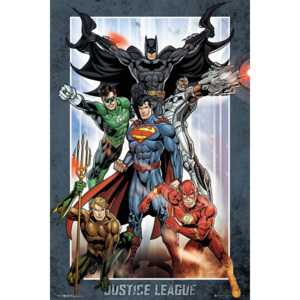 Plagát, Obraz - DC Comics - Justice League Group, (61 x 91,5 cm)