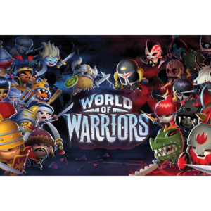 Plagát, Obraz - World of Warriors - Characters, (91,5 x 61 cm)
