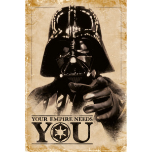Plagát, Obraz - Star Wars - Your Empire Needs You, (61 x 91,5 cm)