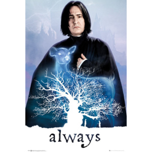 Plagát, Obraz - Harry Potter - Snape Always, (61 x 91,5 cm)