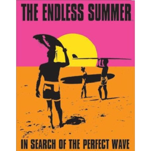 Plechová ceduľa THE ENDLESS SUMMER - In Search Of The Perfect Wave, (31,5 x 40 cm)