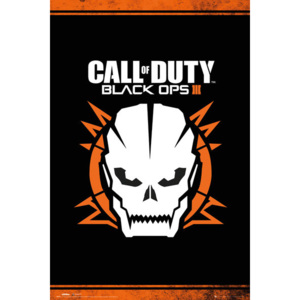 Plagát, Obraz - Call of Duty: Black Ops 3 - Skull, (61 x 91,5 cm)