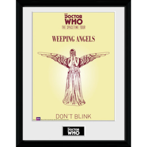 Rámovaný Obraz - Doctor Who - Spacetime Tour Weeping Angels