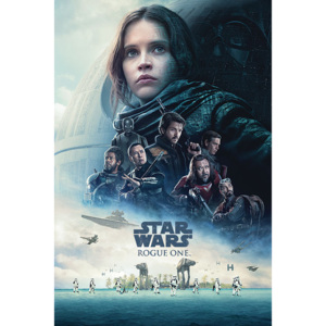 Plagát, Obraz - Rogue One: Star Wars Story - One Sheet, (61 x 91,5 cm)