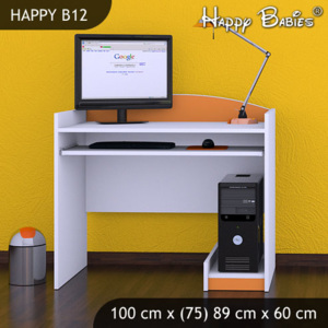 PC stôl Happy Orange B12