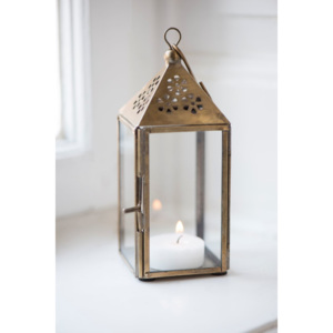 Mini lampáš Triangular Brass