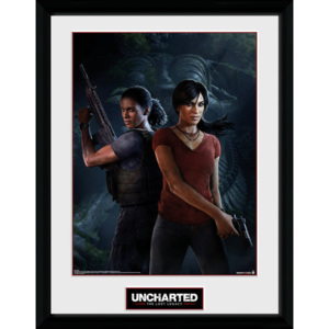 Rámovaný Obraz - Uncharted: The Lost Legacy - Cover