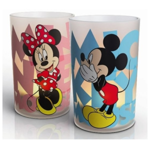 Philips Philips 71712/55/16 - LED stolná lampa CANDLES MICKEY & MINNIE 2xSET LED/0,125W P0687 + záruka 3 roky zadarmo