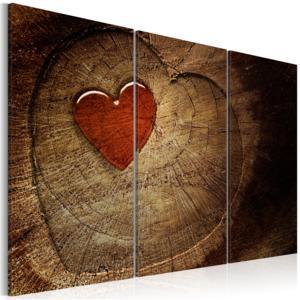 Obraz - Old love does not rust - 3 pieces