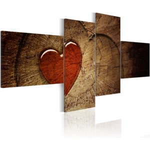 Obraz - Old love does not rust - 4 pieces