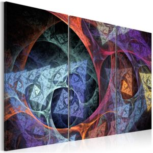 Obraz - Mysterious colors abstraction