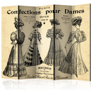 Paraván - Confections pour Dames II [Room Dividers] 225x172