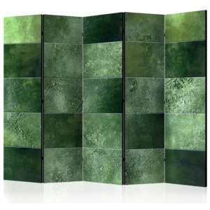 Paraván - Green Puzzle II [Room Dividers] 225x172