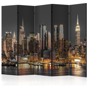 Paraván - New York at Twilight II [Room Dividers] 135x172