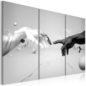 Obraz - Touch in black-and-white 60x40