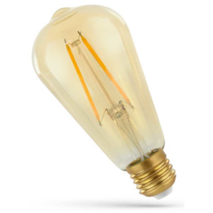 Spectrum LED FILAMENT E27 ST64 RETRO SHINE GOLD WOJ14079