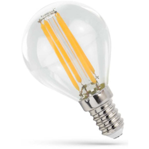 Spectrum LED FILAMENT E14 MB 4W PREMIUM CLEAR WOJ14071