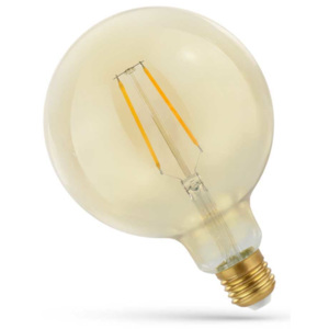 Spectrum LED FILAMENT E27 GL 2W RETRO SHINE GOLD WOJ14078