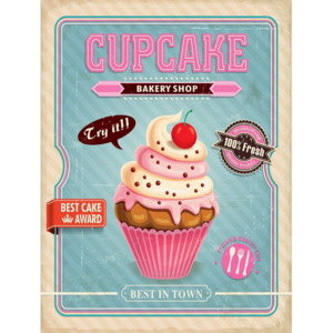 Retro doska - Cupcake Bakery Shop (2)