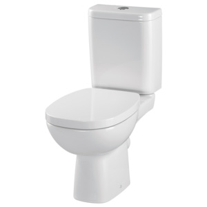 CERSANIT - WC KOMBI FACILE 317 010 3/6 SEDÁTKO FACILE DUROPLAST SOFT CLOSE (K30-008)