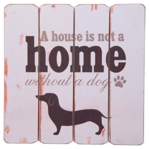 Cedule 40*40 cm For Dogs Only