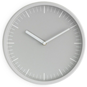 Nástenné hodiny Day Wall Clock Light Grey