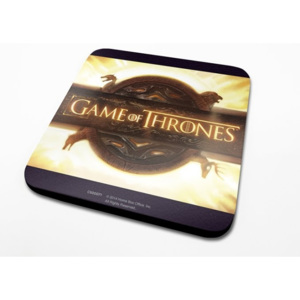 Game of Thrones - Opening Logo Podtácok
