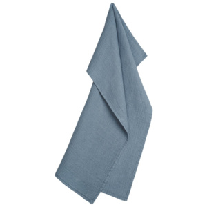 GEORG JENSEN DAMASK Utierka blue shadow 70 × 50 cm LINEN