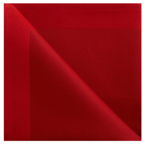 GEORG JENSEN DAMASK Obrúsok deep red 50 × 50 cm
