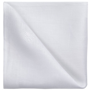 GEORG JENSEN DAMASK Obrúsok white 45 × 45 cm PLAIN