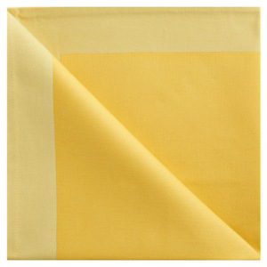 GEORG JENSEN DAMASK Obrúsok yellow 50 × 50 cm