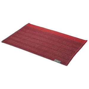 GEORG JENSEN DAMASK Prestieranie deep red 50 × 36 cm HERRINGBONE