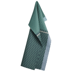 GEORG JENSEN DAMASK Utierka petrol green 80 × 50 cm COLOURS