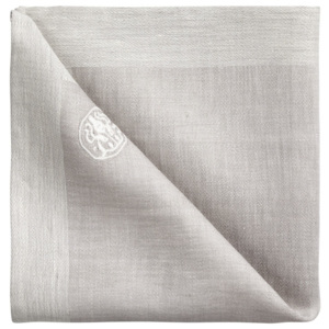 GEORG JENSEN DAMASK Obrúsok grey 45 × 45 cm PLAIN
