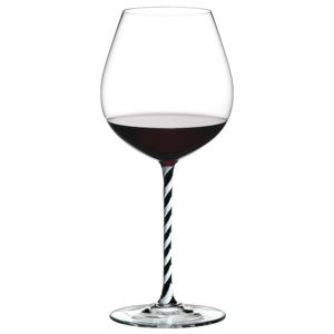 Riedel Pohár Old World Pinot Noir Black and White Twisted Fatto a Mano