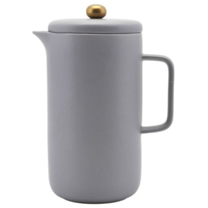Porcelánová kávová kanvica French press Grey