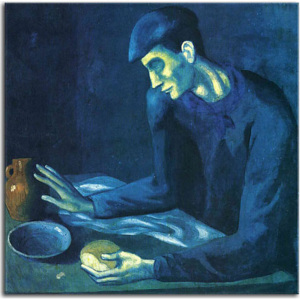 Obraz Picasso - Breakfast of a Blind Man zs17890
