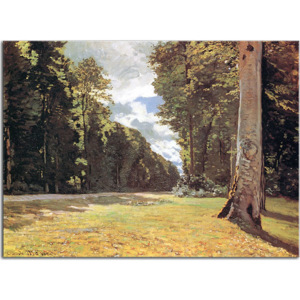 The Pave de Chailly in the Fontainbleau Forest Obraz Claude Monet - zs17772