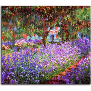 Reprodukcie Claude Monet - The artists garden at Giverny zs10331