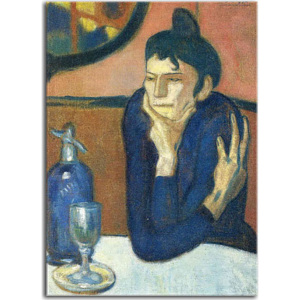 Reprodukcia Picasso The Absinthe Drinker zs17874