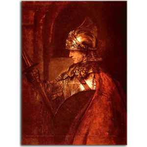 Obraz Rembrandt - A Man in Armour zs18022