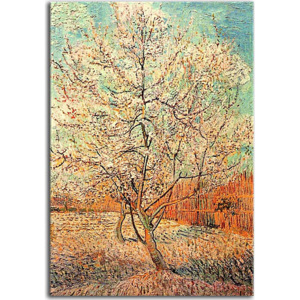 Vincent van Gogh obraz - Peach Tree in Bloom in memory of Mauve zs18430