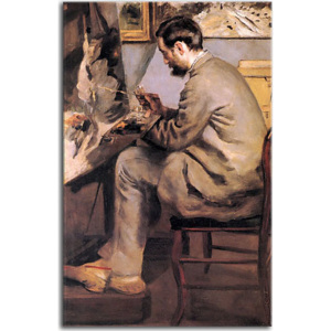 Frederic Bazille Painting The Heron Obraz Renoir zs18147