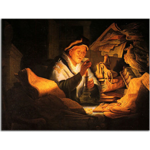 Reprodukcia Rembrandt - The Rich Man from the Parable zs18045
