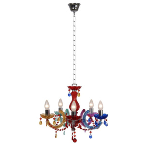 LUCIDE 78351/05/99 ARABESQUE luster 5xE14/40W Multicolor