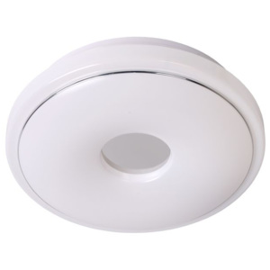 LUCIDE 79162/22/61 MIRO Ceiling Light T5/22W D30 IP21 White/Chrome