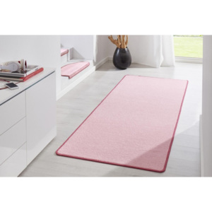 Hanse Home Collection koberce Kobercová sada Fancy 103010 Rosa - (3 díly; 2x 67x140 cm; 1x 67x250 cm) cm