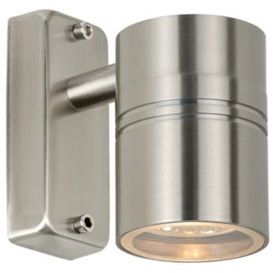 Lucide Lucide 14867/21/12 ARNE Outdoor Wall lamp 1x GU10/35W Satin chrome