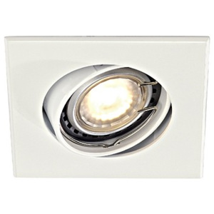 Schrack Technik Schrack Technik SQUARE GU10 downlight, biele- LI113211