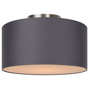 Lucide Lucide CORAL Ceiling Light E27 D35 H20cm Grey- 61113/35/36